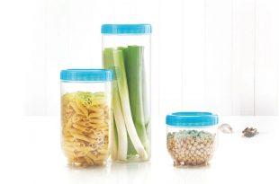 ظروف نگهدارنده مواد غذایی با درب های پیچی